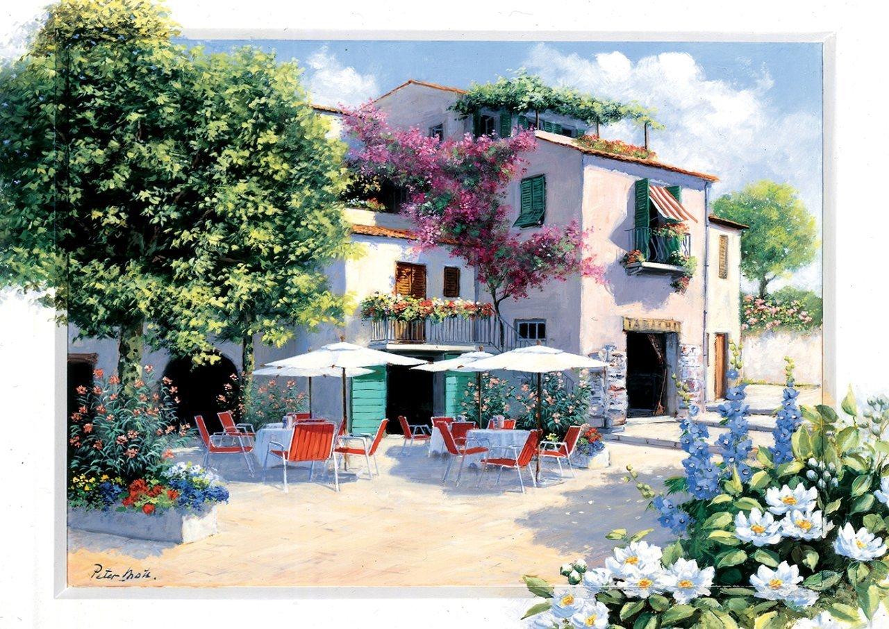 Puzzle Art Puzzle Villa Café de 500 Piezas