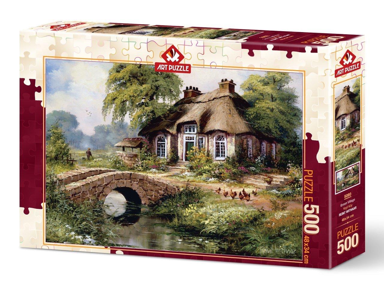 Puzzle Art Puzzle Villa Verde de 500 Piezas