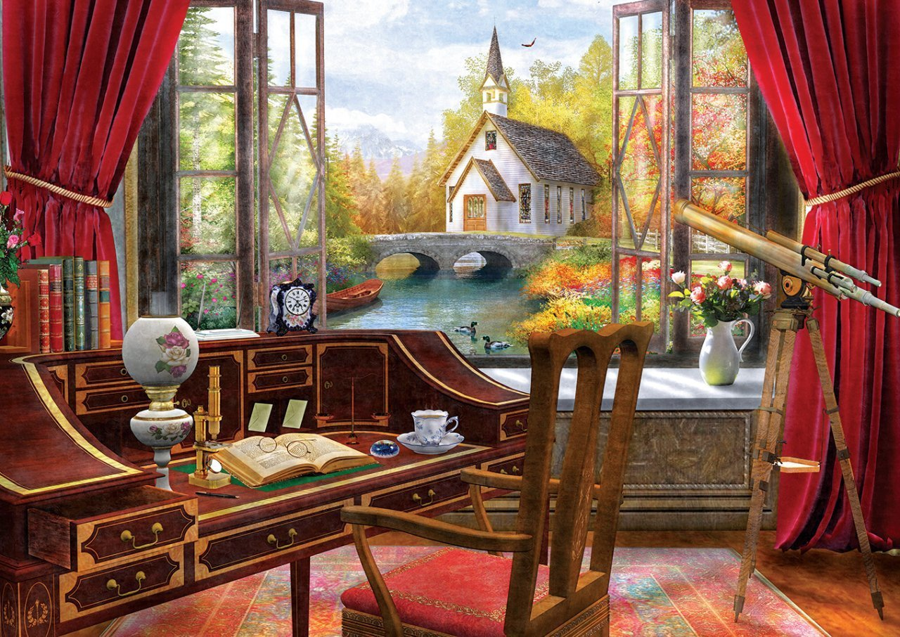 Puzzle Art Puzzle Vista de Estudio de 500 Piezas