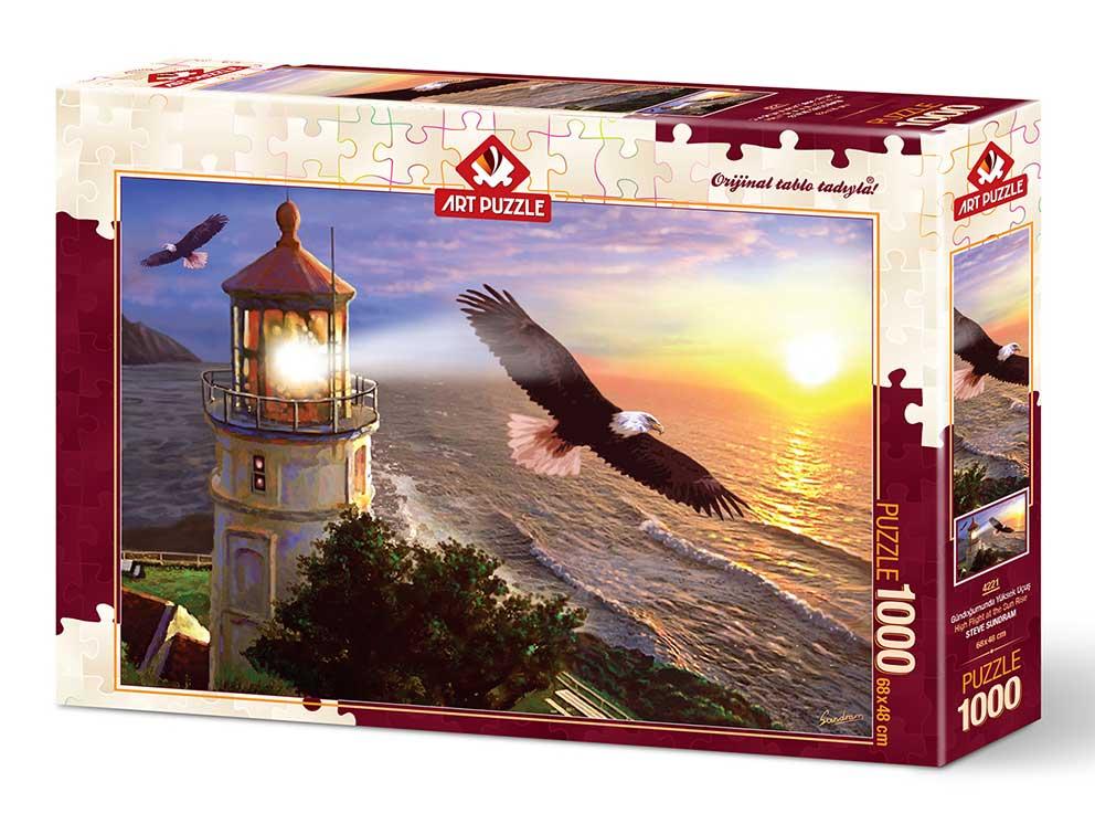 Puzzle Art Puzzle Volando Alto Hacia el Horizonte de 1000 Piezas