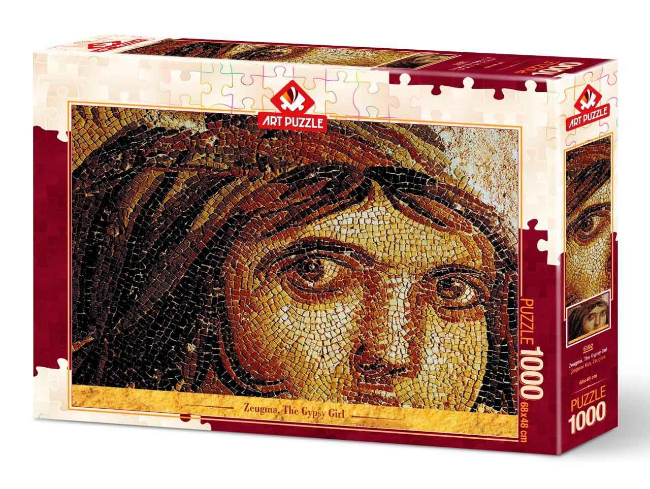 Puzzle Art Puzzle Zeugma, La Chica Gitana de 1000 Piezas