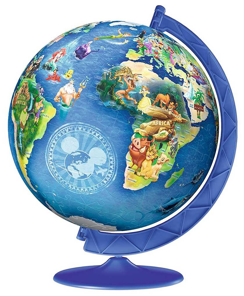 Puzzle Ball 3D Ravensburger Globo Disney de 180 Piezas