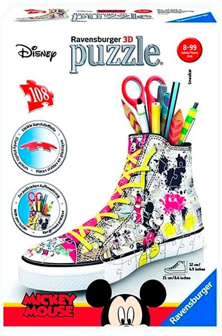Puzzle 3D Ravensburger Sneaker Disney Mickey 108 Pzs