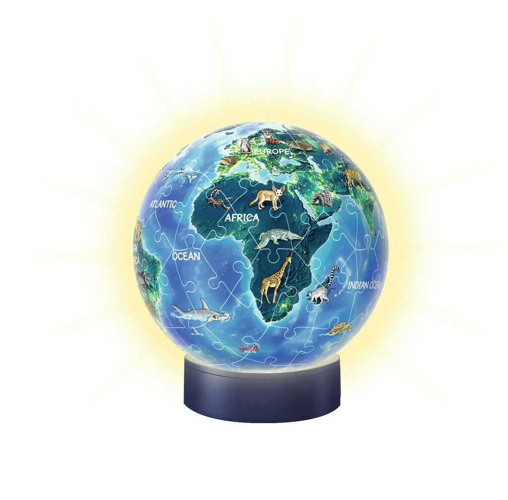 Puzzle Ball Lámpara Ravensburger La Tierra 3D 72 Piezas