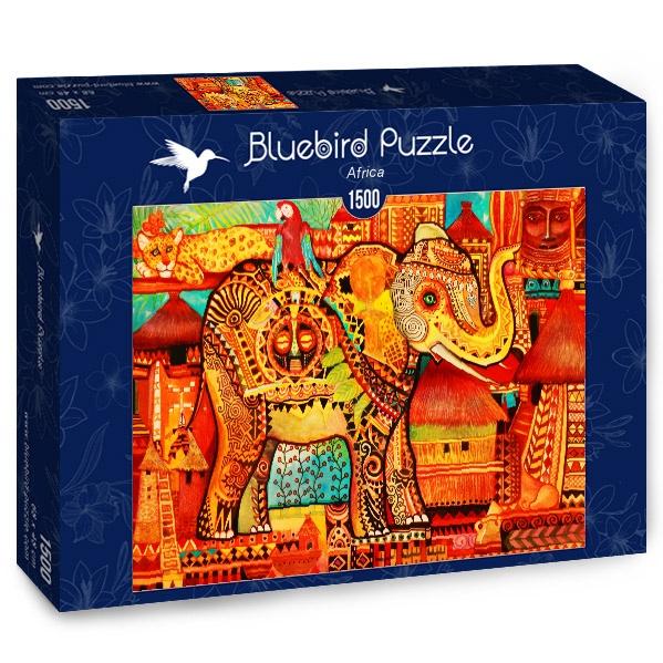 Puzzle Bluebird África de 1500 Piezas