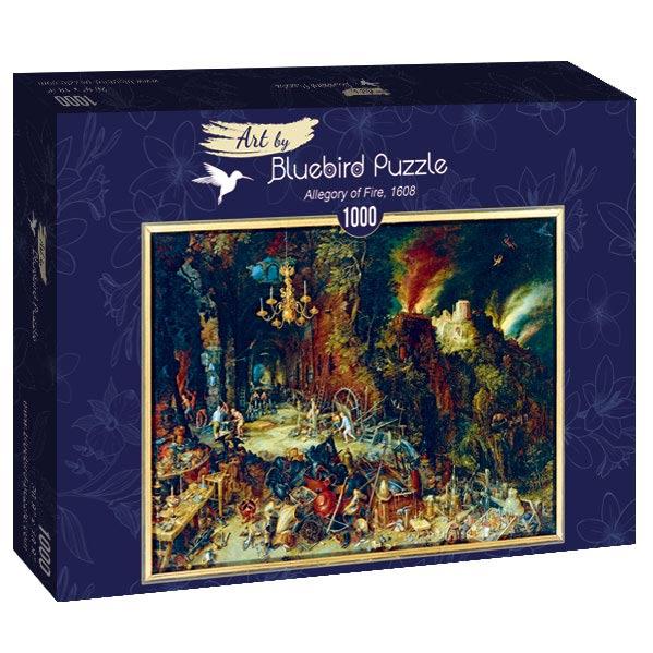 Puzzle Bluebird Alegoría de Fuego de 1000 Piezas