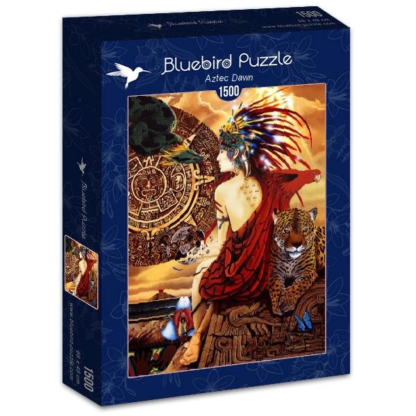 Puzzle Bluebird Amanecer Azteca de 1500 Piezas
