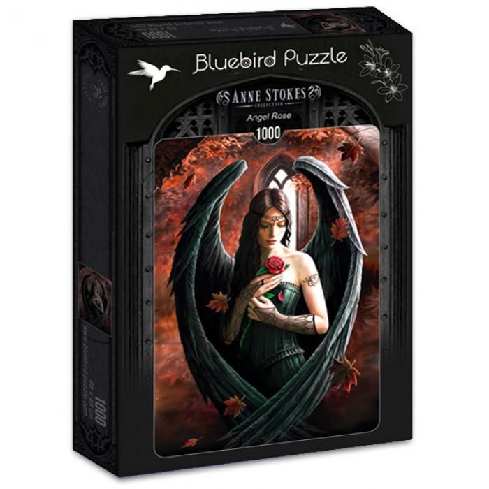Puzzle Bluebird Ángel Rosa de 1000 Piezas