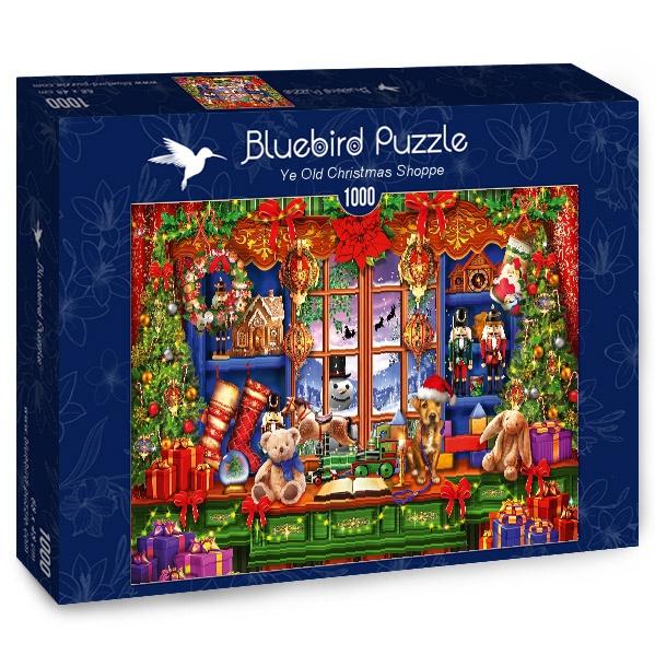 Puzzle Bluebird Antigua Tienda de Navidad de 1000 Piezas