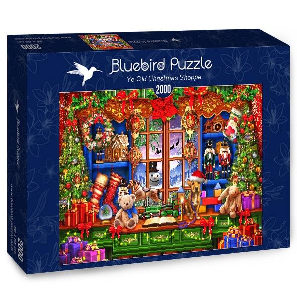 Puzzle Bluebird Antigua Tienda Navideña de 2000 Piezas