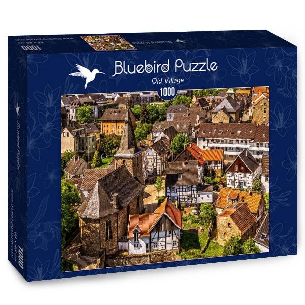 Puzzle Bluebird Antiguo Pueblo de 1000 Piezas