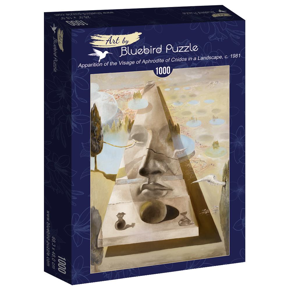 Puzzle Bluebird Aparición del Rostro de Afrodita de Cnidos 1000P