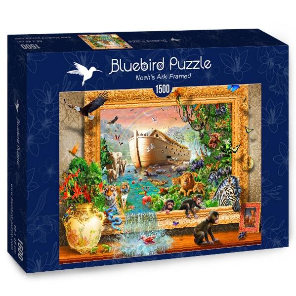 Puzzle Bluebird Arca de Noé Enmarcado de 1500 Piezas