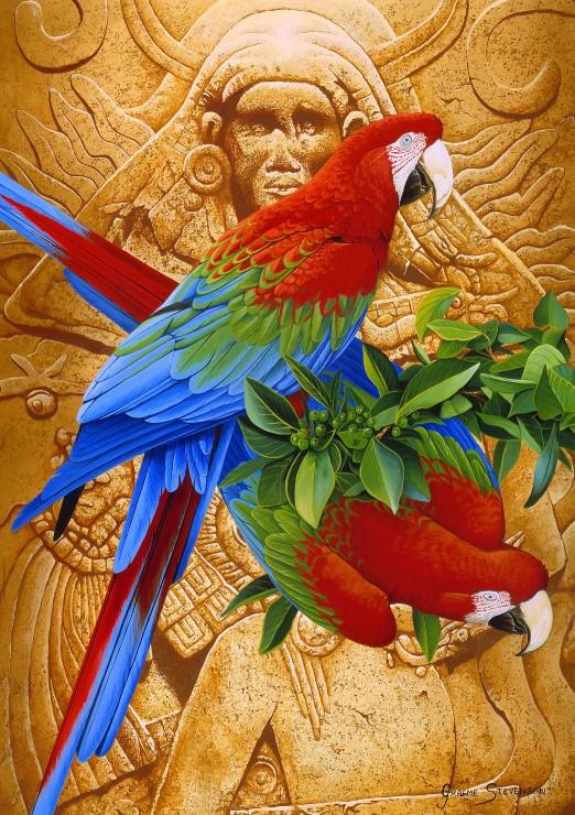 Puzzle Bluebird Arcoiris Azteca de 1500 Piezas