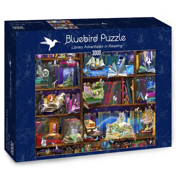 Puzzle Bluebird Aventuras de Biblioteca de 3000 Piezas