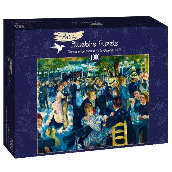 Puzzle Bluebird Baile en el Moulin de la Galette de 1000 Piezas