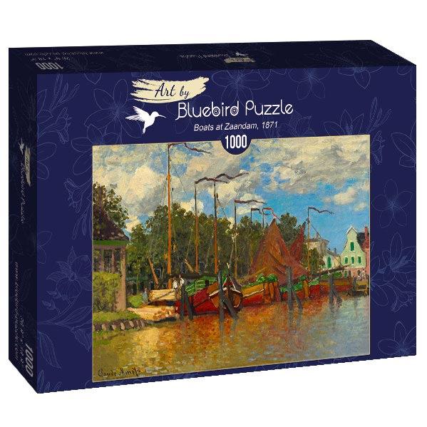Puzzle Bluebird Barcos en Zaandam de 1000 Piezas