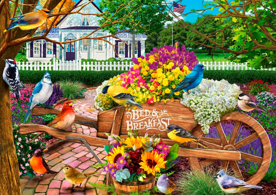 Puzzle Bluebird Bed and Breakfast de 1000 Piezas