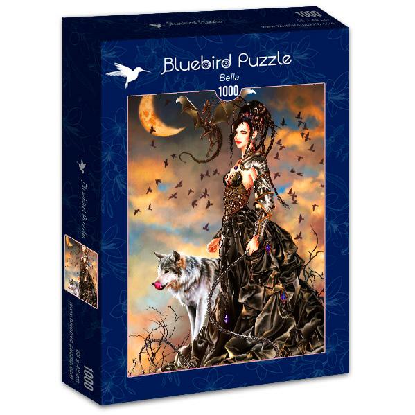 Puzzle Bluebird Bella de 1000 Piezas