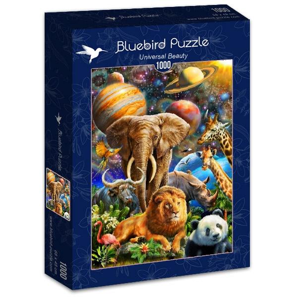 Puzzle Bluebird Belleza Universal de 1000 Piezas