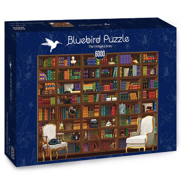 Puzzle Bluebird Biblioteca Vintage de 6000 Piezas