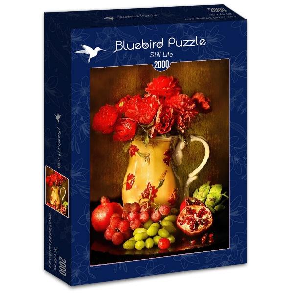 Puzzle Bluebird Bodegón de Vida de 2000 Piezas