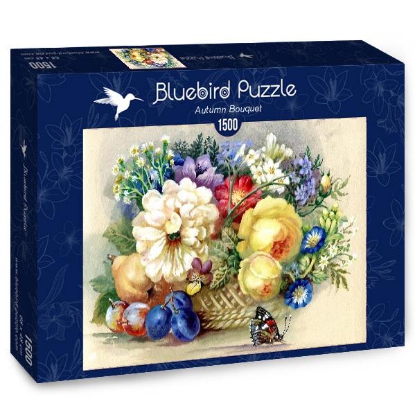 Puzzle Bluebird Ramo de Otoño de 1500 Piezas