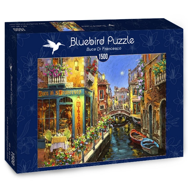 Puzzle Bluebird Buca di San Francesco de 1500 Piezas