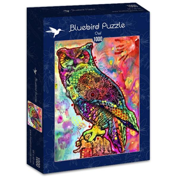 Puzzle Bluebird Búho de 1000 Piezas