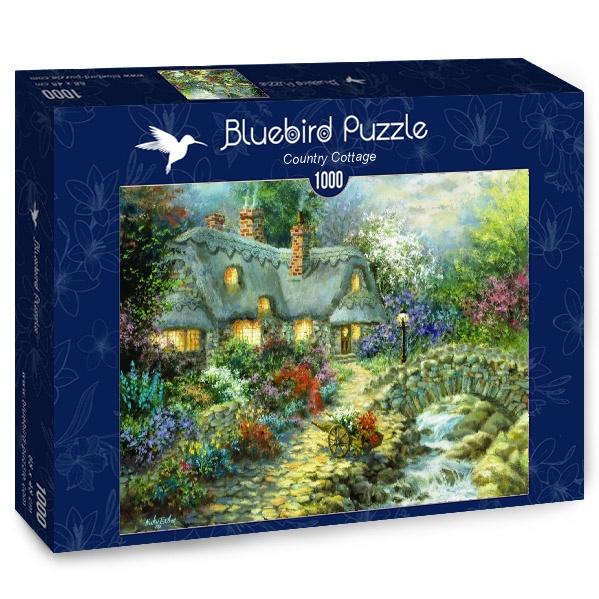 Puzzle Bluebird Cabaña de Campo de 1000 Piezas