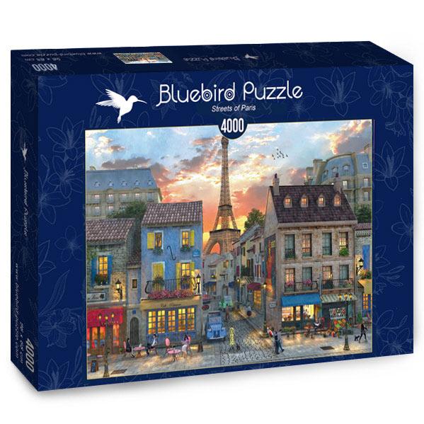 Puzzle Bluebird Calles de París de 4000 Piezas