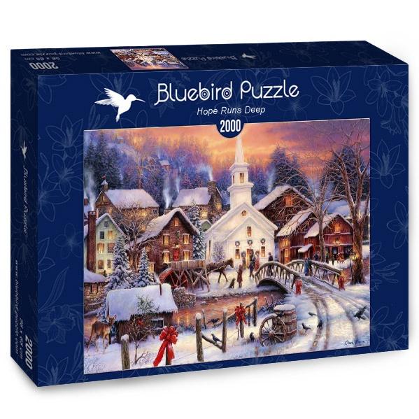 Puzzle Bluebird Camino de la Esperanza Profunda de 2000 Piezas