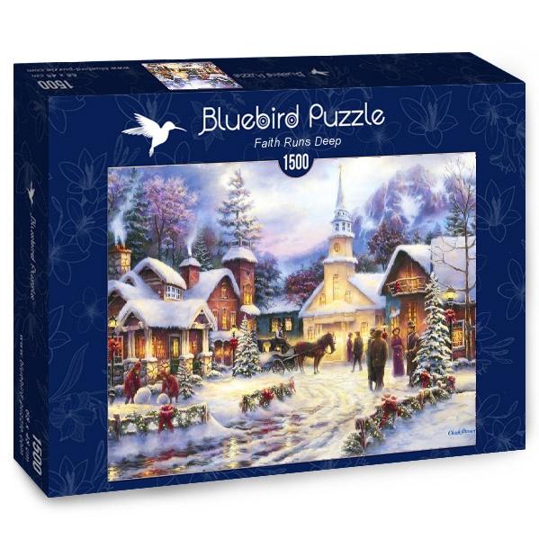 Puzzle Bluebird Camino de la Fé Profunda de 1500 Piezas