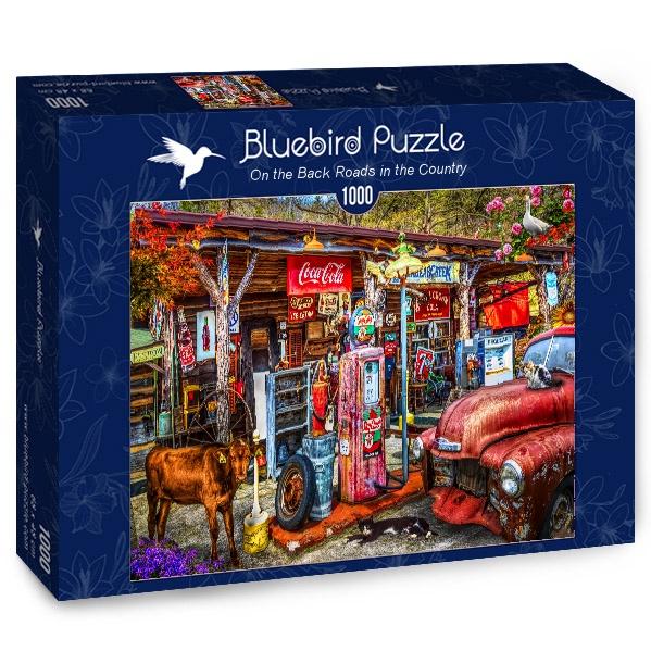 Puzzle Bluebird Carreteras Secundarias del País de 1000 Piezas