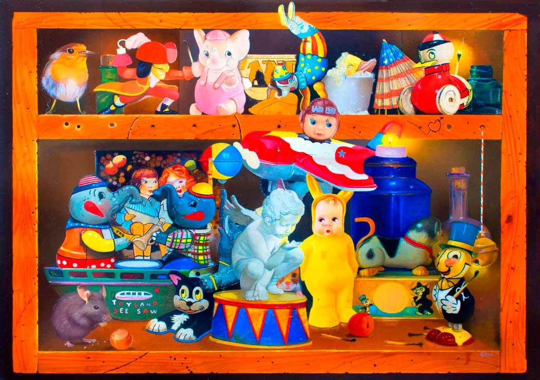 Puzzle Bluebird Casa Repleta de 1000 Piezas