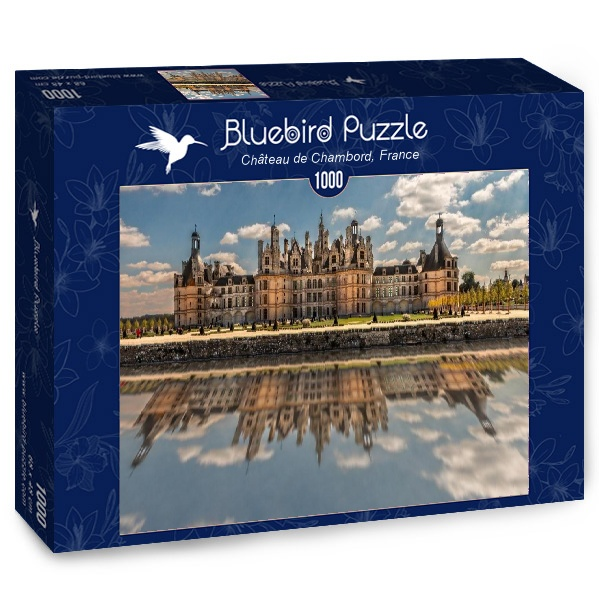 Puzzle Bluebird Castillo de Chambord, Francia de 1000 Piezas
