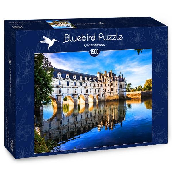 Puzzle Bluebird Castillo de Chanonceau de 1500 Piezas