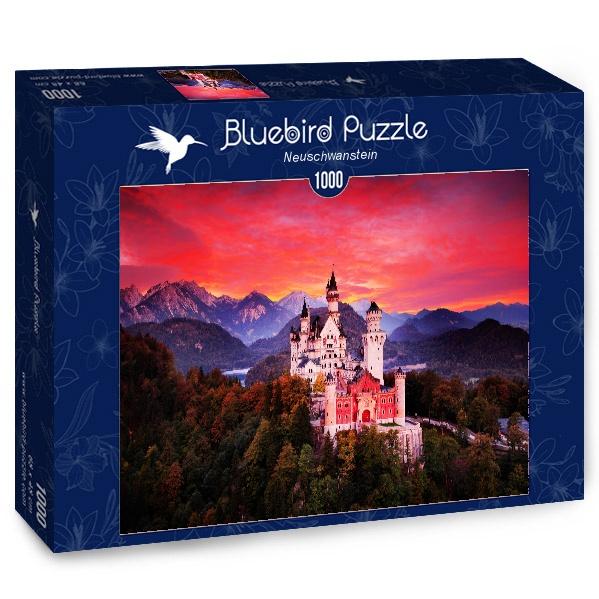 Puzzle Bluebird Castillo de Nueschwanstein de 1000 Piezas