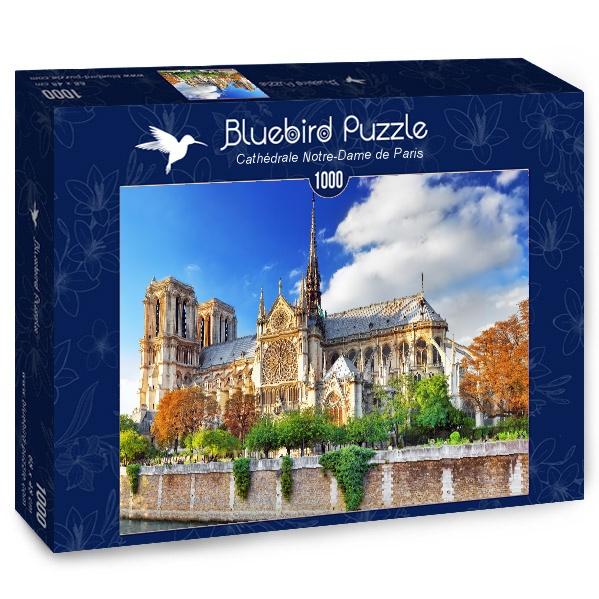 Puzzle Bluebird Catedral de Notre-Dame de Paris de 1000 Piezas