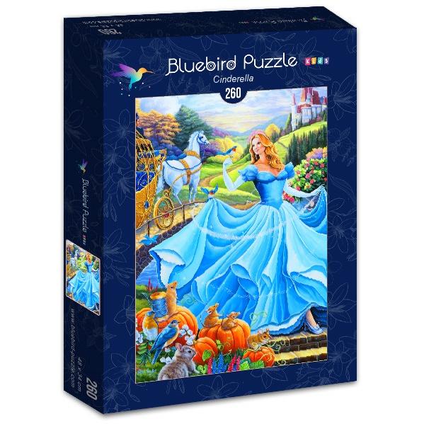 Puzzle Bluebird Cenicienta 2 de 260 Piezas