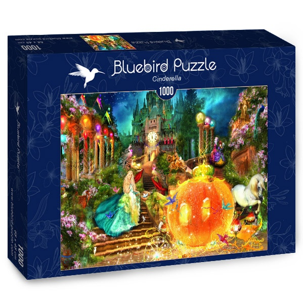 Puzzle Bluebird Cenicienta de 1000 Piezas