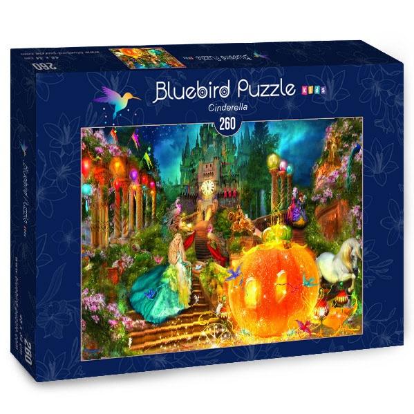 Puzzle Bluebird Cenicienta de 260 Piezas