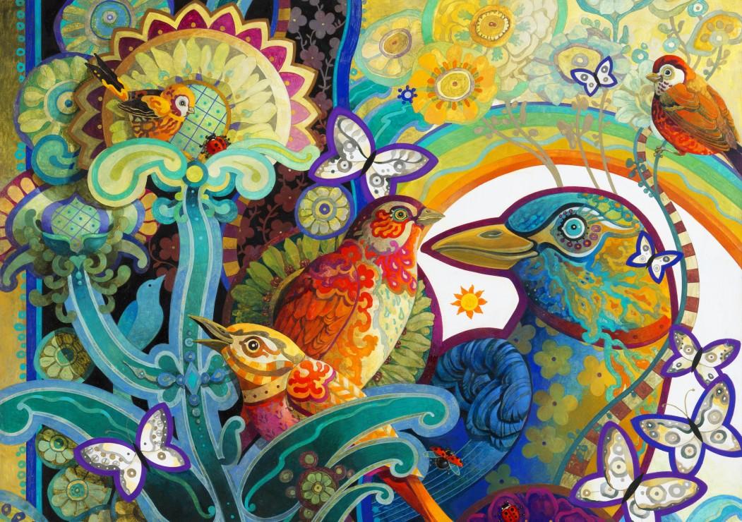Puzzle Bluebird Cesta del Paraiso de 1000 Piezas