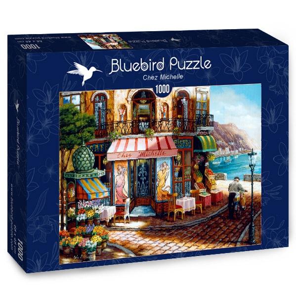 Puzzle Bluebird Chez Michelle de 1000 Piezas