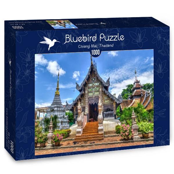 Puzzle Bluebird Chiang Mai, Tailandia de 1000 Piezas