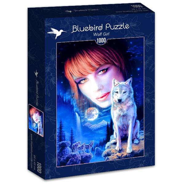 Puzzle Bluebird Chica Lobo de 1000 Piezas