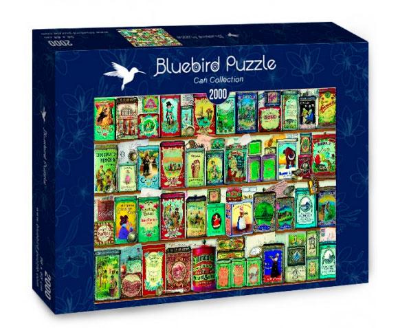 Puzzle Bluebird Colección de Latasl de 2000 Piezas
