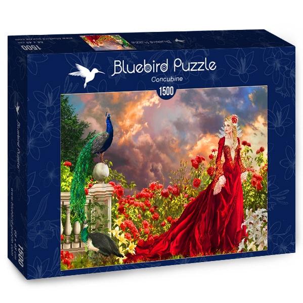 Puzzle Bluebird Concubina de 1500 Piezas