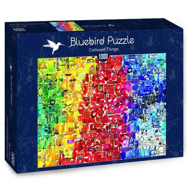 Puzzle Bluebird Cosas de Colores de 1000 Piezas