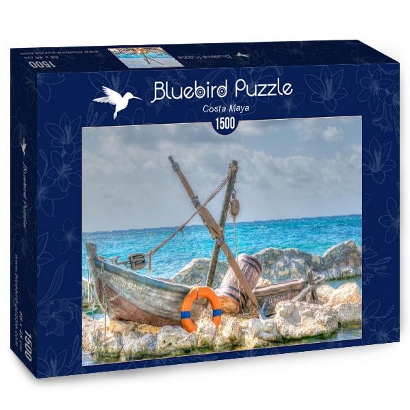 Puzzle Bluebird Costa Maya de 1500 Piezas